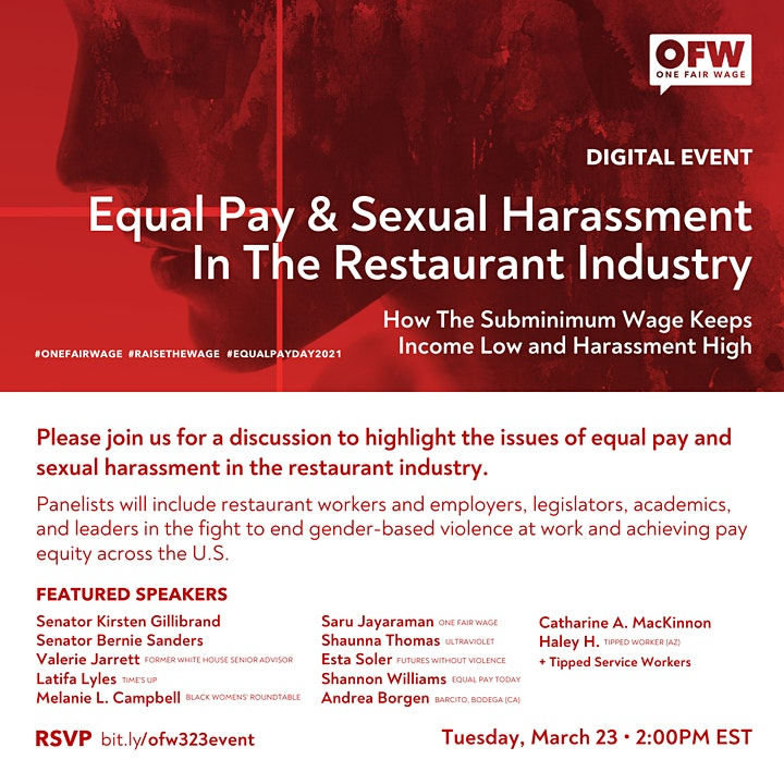 Equal Pay & Sexual Harassment in the Restaurant Industry image
