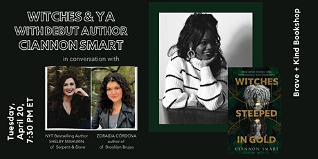 Witches + YA: Ciannon Smart in convo w/Shelby Mahurin + Zoraida Córdova tickets