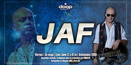 Cena Show exclusiva con la presentación de JAF entradas