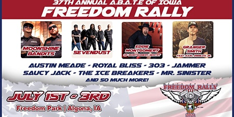 37th Annual Freedom Rally tickets