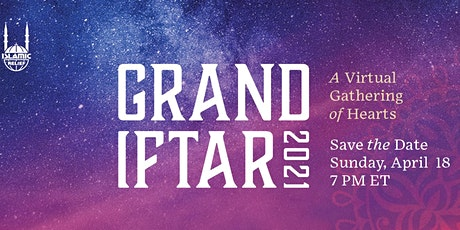 IRUSA Grand Iftar  Virtual  Gathering of Heart tickets