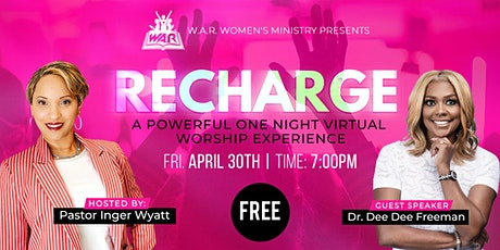 WAR Recharge with Dr. Dee Dee Freeman entradas