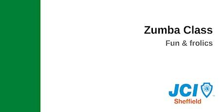 Zumba Class - fun and frolics program tickets