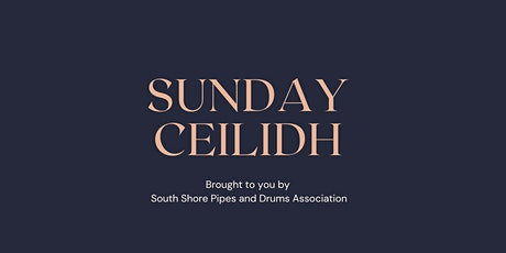 Sunday Ceilidh tickets