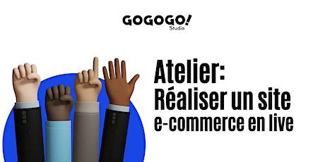 Réaliser un site e-commerce en live billets