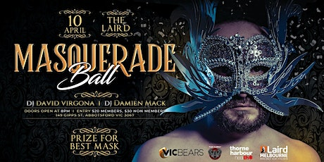 Masquerade Ball - Presented by VicBears and The Laird tickets