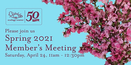 2021Annual Membership Meeting tickets