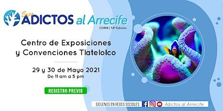 EXPO Adictos al Arrecife boletos