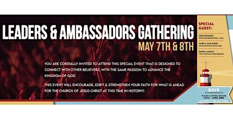 Leadership & Ambassadors Gathering tickets