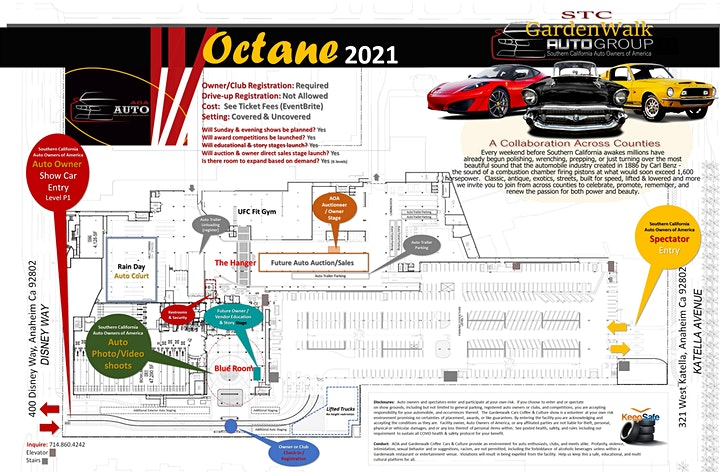 Octane Donuts Auto Show at STC GardenWalk image