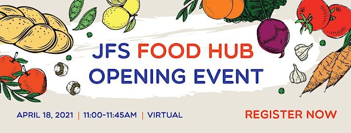 JFS Food Hub Opening Event image