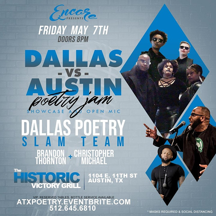 Dallas vs ATX Poetry Jam | 5.7 image