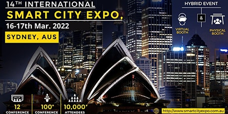 14th International Smart City Expo 2022, Live Streaming Worldwide tickets