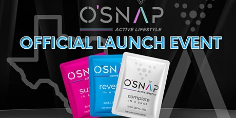 O'SNAP Active Lifestyle Official Launch tickets