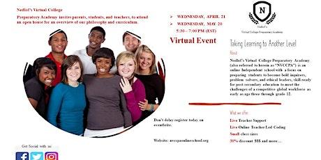 Nedlof's Virtual College Grand Opening tickets