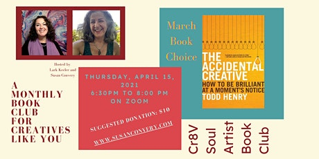 "Cr8v Soul Artist Book Club - ""The Accidental Creative"" by Todd Henry tickets"