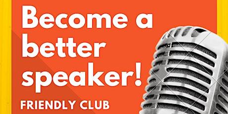 Friendly Toastmasters Club Meeting biglietti