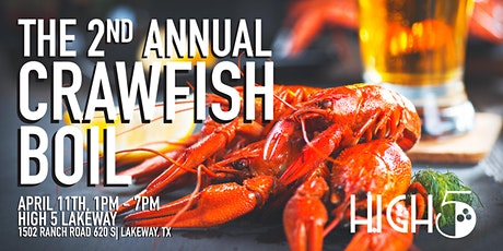 2nd Annual High 5 Lakeway Crawfish Boil! tickets