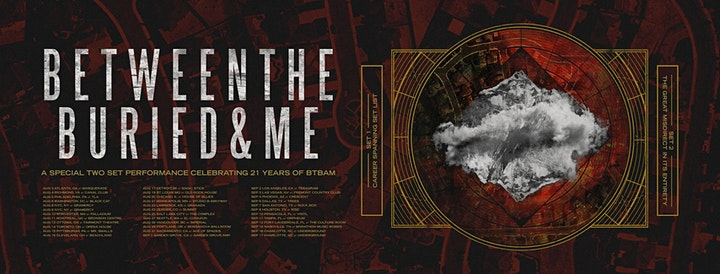 Between the Buried and Me: An Evening with - PORTLAND NEW DATE! image