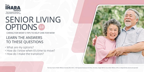 Senior Living Options Seminar tickets
