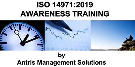 ISO 14971:2019 RISK MANAGEMENT AWARENESS TRAINING tickets