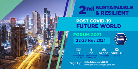 2nd International Sustainable & Resilient Future World Forum 2021 tickets