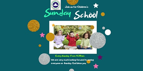 Children Sunday School Service tickets