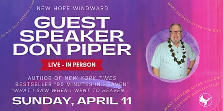 DON PIPER at New Hope Windward tickets