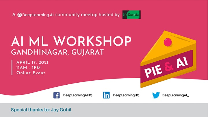Pie & AI: Gandhinagar - AI-ML Workshop image