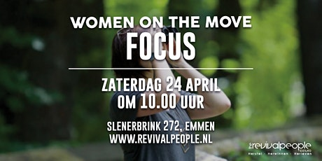 RPN - Vrouwendag - Women on the move - Focus tickets