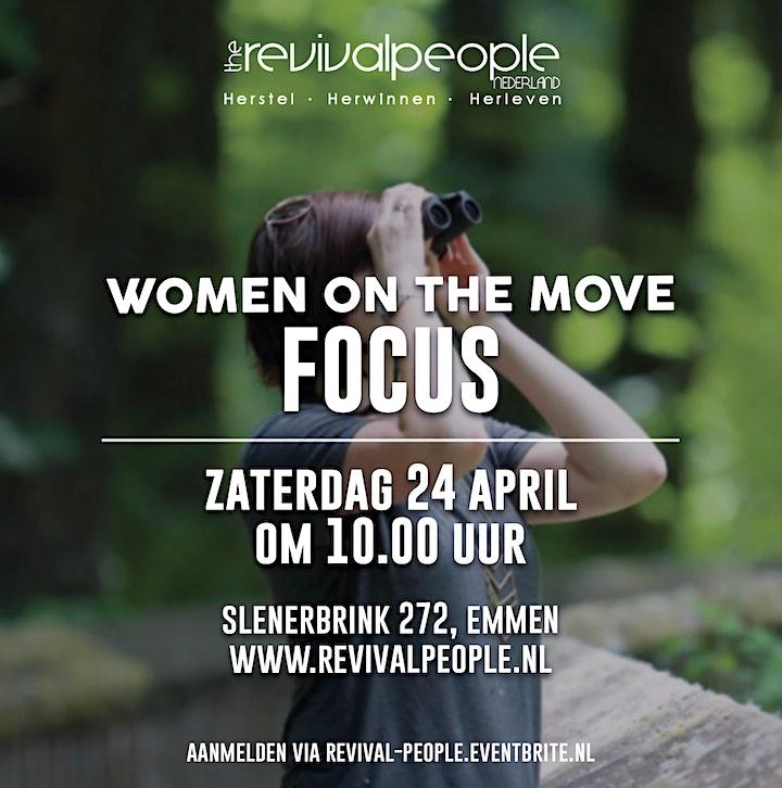 Afbeelding van RPN - Vrouwendag - Women on the move - Focus