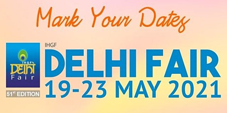 IHGF Delhi Fair 2021 tickets