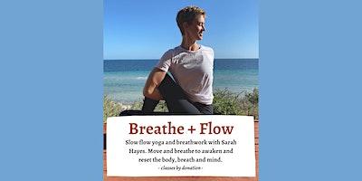 Breathe + Flow  Yoga
