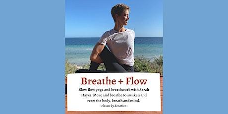 Breathe + Flow  Yoga tickets
