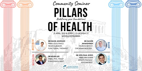 Pillars of Health Community Forum tickets