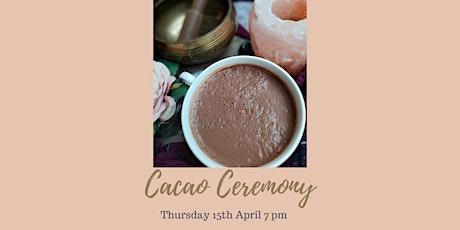 Cacao Ceremony (Online) -Solar Plexus  Chakra Connection tickets