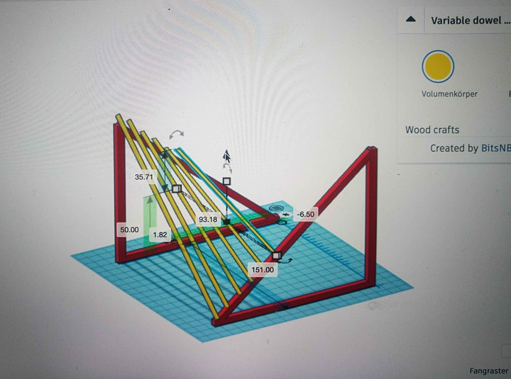 Einführungsangebot Architektur experimentell entdecken-Paraboloide Flächen: Bild