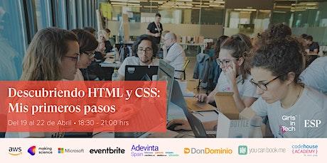 Bootcamp Descubriendo HTML y CSS: Mis primeros pasos entradas