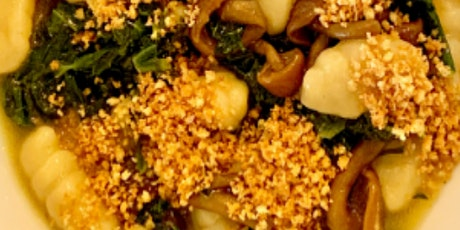 Master Series: Handmade Cavatelli with Butter Soy Mushrooms, Kale, and Toas tickets