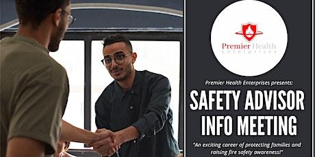 Safety Advisor Career Meeting tickets