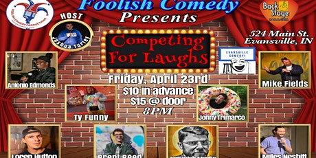 Competing For Laughs (April 2021) tickets