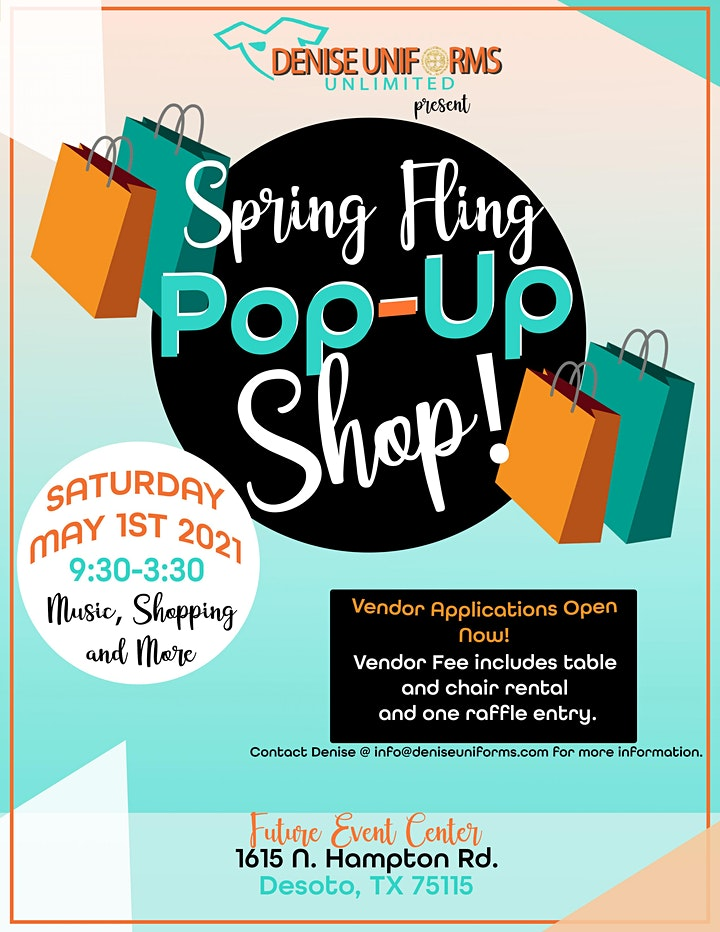 Denise Uniforms Unlimited Spring Fling Pop Up Shop image