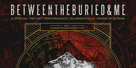 Between the Buried and Me @ The Orpheum tickets