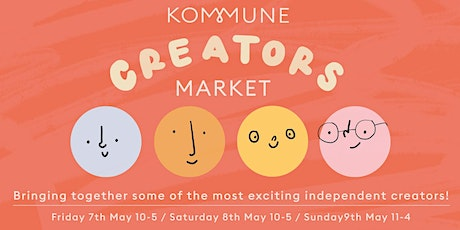 Kommune Creators Market - Weekend 4/4 tickets