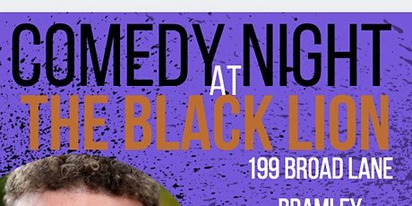 Jack O'Clubs Comedy Night at The Black Lion with Eddie Fortune tickets