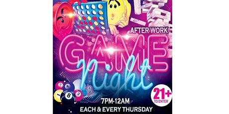 DyeimondLashCo After Work GameNight tickets