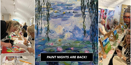 """Show Me The Monet"" Paint Night tickets"