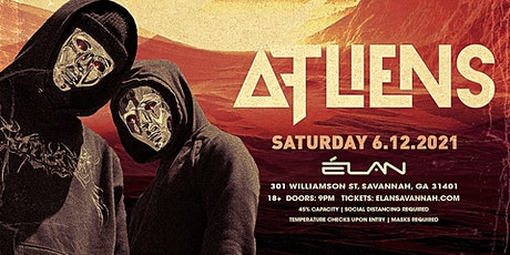 ATLiens at Elan Savannah (Sat, June 12th) tickets