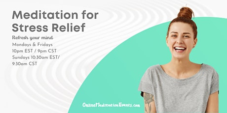 Meditation for Stress Relief Brooklyn Meditation tickets