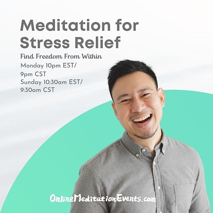 Meditation for Stress Relief Brooklyn Meditation image